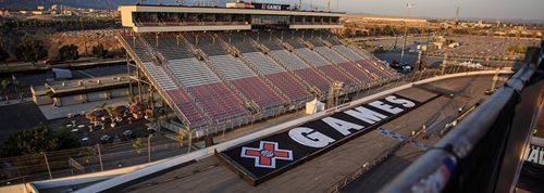 Racetrack, motocross, bmx filming location rental cars grandstands