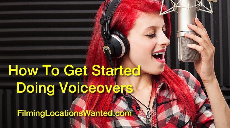 how to voiceover for films television videos voice